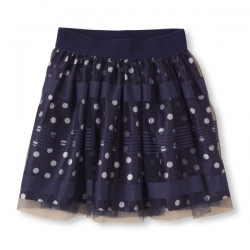 Skirt double-layer PLACE 1989 USA