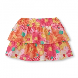 Skirt FLORAL RUFFLE PLACE 1989 USA