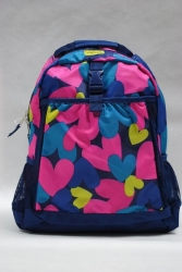 School Backpack Hearts PLACE 1989 USA