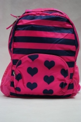 School Backpack Hearts&Stripes PLACE 1989 USA
