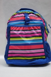 School Backpack Stripes Star's Sky 1989 USA