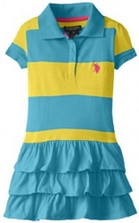 Dress RUFFLED POLO US POLO ASSN.